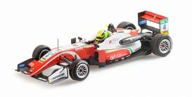Dallara Mercedes Benz - F317 2018 red/white - 1:43 - Minichamps - 517184304 - mc517184304 | The Diecast Company