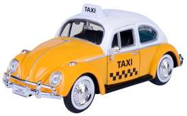 Volkswagen  - Beetle yellow - 1:24 - Motor Max - 79577 - mmax79577 | The Diecast Company