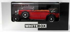 Maybach  - 1930 red/black - 1:43 - Whitebox - 058 - WB058 | The Diecast Company