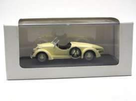 Mercedes Benz  - 1935 beige - 1:43 - Whitebox - WBmb150 | The Diecast Company