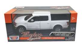 Ford  - F-150 oxford white - 1:27 - Motor Max - 79363 - mmax79363w | The Diecast Company