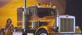 Peterbilt  - 359 brown - 1:43 - IXO Models - tr013 - ixtr013 | The Diecast Company