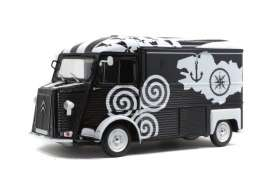 Citroen  - HY black/white - 1:18 - Solido - 1804812 - soli1804812 | The Diecast Company