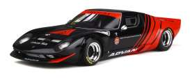 LB Works  - Miura black/red - 1:18 - GT Spirit - GTS033KJ-B - GTS033bkr | The Diecast Company