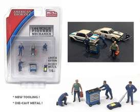 Figures  - Mechanics  - 1:64 - American Diorama - 38400 - AD38400 | The Diecast Company