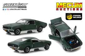 Ford  - Mustang GT 1968 green - 1:18 - GreenLight - 13551 - gl13551 | The Diecast Company
