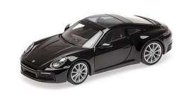Porsche  - 911 2019 black - 1:87 - Minichamps - 870068321 - mc870068321 | The Diecast Company
