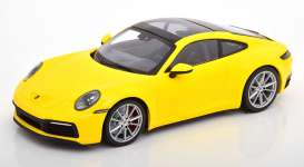 Porsche  - 911 2019 yellow - 1:87 - Minichamps - 870068322 - mc870068322 | The Diecast Company