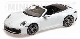 Porsche  - 911 2019 white - 1:87 - Minichamps - 870068330 - mc870068330 | The Diecast Company