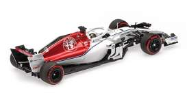 Alfa Romeo Sauber - C37 2018 white/red - 1:43 - Minichamps - 417182109 - mc417182109 | The Diecast Company