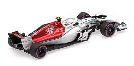 Alfa Romeo Sauber - C37 2018 white/red - 1:43 - Minichamps - 417182136 - mc417182136 | The Diecast Company