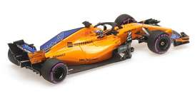 McLaren Renault - MCL33 2018 yellow-orange - 1:43 - Minichamps - 537186404 - mc537186404 | The Diecast Company