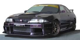 Nissan  - GT-R purple - 1:18 - Ignition - IG1927 - IG1927 | The Diecast Company