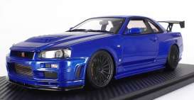 Nissan  - Nismo GT-R blue - 1:18 - Ignition - IG1830 - IG1830 | The Diecast Company