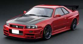 Nissan  - Nismo GT-R red - 1:18 - Ignition - IG1831 - IG1831 | The Diecast Company