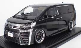 Toyota  - Velfire black - 1:18 - Ignition - IG1671 - IG1671 | The Diecast Company