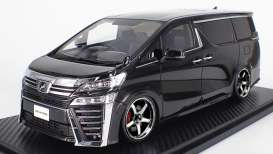 Toyota  - Velfire black - 1:18 - Ignition - IG1673 - IG1673 | The Diecast Company