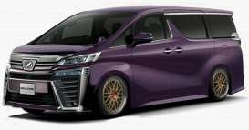 Toyota  - Velfire purple - 1:18 - Ignition - IG1674 - IG1674 | The Diecast Company