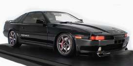 Toyota  - Supra 3.0 GT black - 1:18 - Ignition - IG1736 - IG1736 | The Diecast Company