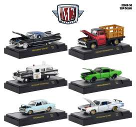 Assortment/ Mix  - various - 1:64 - M2 Machines - 32600-50 - M2-32600-50 | The Diecast Company