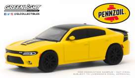 Dodge  - Charger 2017 yellow - 1:64 - GreenLight - 30112 - gl30112 | The Diecast Company