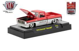 Chevrolet  - Silverado 1979 red/silver - 1:64 - M2 Machines - 31500MJS15 - M2-31500MJS15 | The Diecast Company