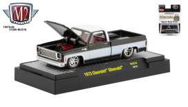 Chevrolet  - Silverado 1973 black/white - 1:64 - M2 Machines - 31500MJS16 - M2-31500MJS16 | The Diecast Company