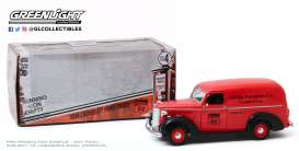 Chevrolet  - Panel Truck 1939 red - 1:24 - GreenLight - 85051 - gl85051 | The Diecast Company