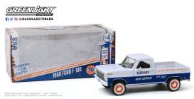 Ford  - F-100 1968 blue/white - 1:24 - GreenLight - 85052 - gl85052 | The Diecast Company