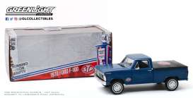 Ford  - F-100 1970 blue - 1:24 - GreenLight - 85053 - gl85053 | The Diecast Company