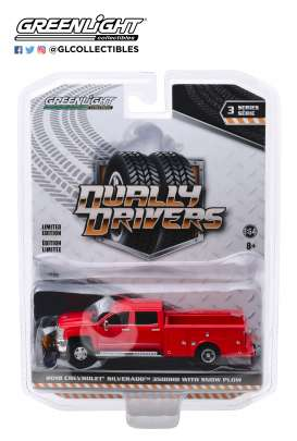 Chevrolet  - Silverado 2018 red - 1:64 - GreenLight - 46030A - gl46030A | The Diecast Company