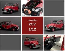 Citroen  - 1982 red/black - 1:12 - OttOmobile Miniatures - ZMD1200101 - ottoZMD1200101 | The Diecast Company
