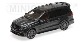 Brabus Mercedes Benz - 850 2017 black - 1:43 - Minichamps - 437037360 - mc437037360 | The Diecast Company