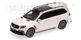 Brabus Mercedes Benz - 850 2017 pearl white - 1:43 - Minichamps - 437037361 - mc437037361 | The Diecast Company