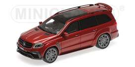 Brabus Mercedes Benz - 850 2017 red - 1:43 - Minichamps - 437037362 - mc437037362 | The Diecast Company