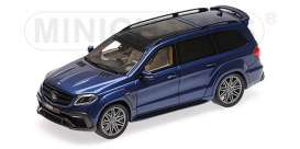 Brabus Mercedes Benz - 850 2017 dark blue - 1:43 - Minichamps - 437037364 - mc437037364 | The Diecast Company