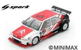 Citroen | BX 1989 White/red | 1:43 | Spark | spaSF138 | The