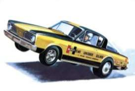 Plymouth  - Barracuda 1966  - 1:25 - AMT - s1153 - amts1153 | The Diecast Company