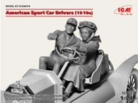 American Figures - Sport Car  - 1:24 - ICM - 24014 - icm24014 | The Diecast Company