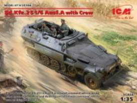 Military Vehicles  - Sd.Kfz.251/6  - 1:35 - ICM - 35104 - icm35104 | The Diecast Company