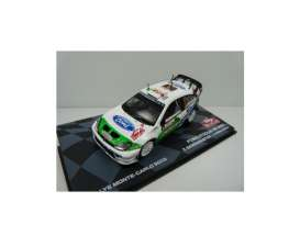 Ford  - Focus Rs WRC #5 2005 white/green - 1:43 - Magazine Models - MagRfwpFocus05 | The Diecast Company