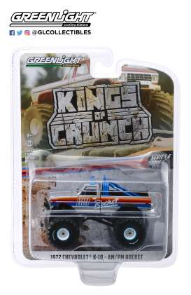 Chevrolet  - K-10 Monster Truck 1972  - 1:64 - GreenLight - 49060A - gl49060A | The Diecast Company