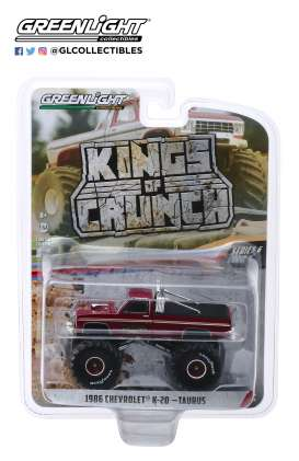 Chevrolet  - K20  1986  - 1:64 - GreenLight - 49060D - gl49060D | The Diecast Company