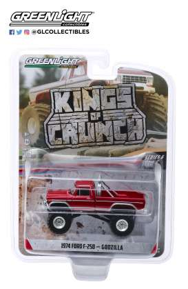 Ford  - F-250 Monster Truck 1974  - 1:64 - GreenLight - 49060E - gl49060E | The Diecast Company