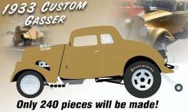 Willys  - Gasser *Dirty Thirty* 1933 gold metallic - 1:18 - Acme Diecast - 1800914 - acme1800914 | The Diecast Company