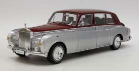 Rolls Royce  - silver/red - 1:18 - Kyosho - 8905sr - kyo8905sr | The Diecast Company