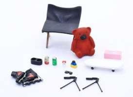 Accessoires diorama | 1:24 | Fujimi | fuji116488 | The