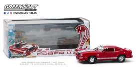 Ford  - Mustang 1976 red/white - 1:43 - GreenLight - 86337 - gl86337 | The Diecast Company