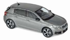 Peugeot  - 308 GT 2017 grey - 1:43 - Norev - 473848 - nor473848 | The Diecast Company