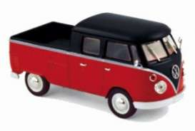 Volkswagen  - 1961 red/black - 1:43 - Norev - 840218 - nor840218 | The Diecast Company